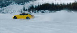BMW M6 Snow