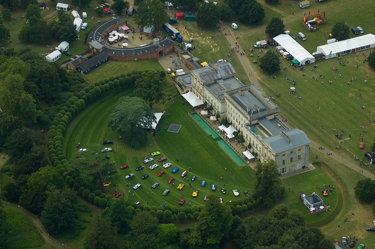 Hevingham Hall Concours